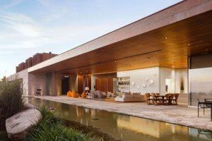 Ngôi nhà tuyệt đẹp như ốc đảo ở Sao Paulo, Brazil