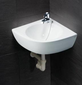 Chậu rửa Caesar L2014 góc treo tường
