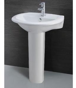 Chậu rửa Caesar L2360 chân dài