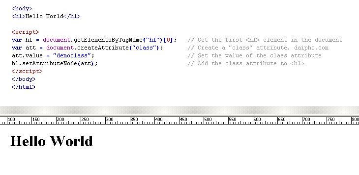 JavaScript: Phương thức appendChild