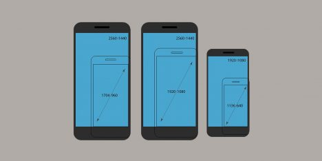 Các thông số kỹ thuật của màn hình điện thoại trong thiết kế giao diện UI